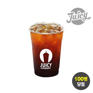 [특가위크] 럭키타임 쥬씨 아메리카노 M(ice) 100원 응모 이벤트