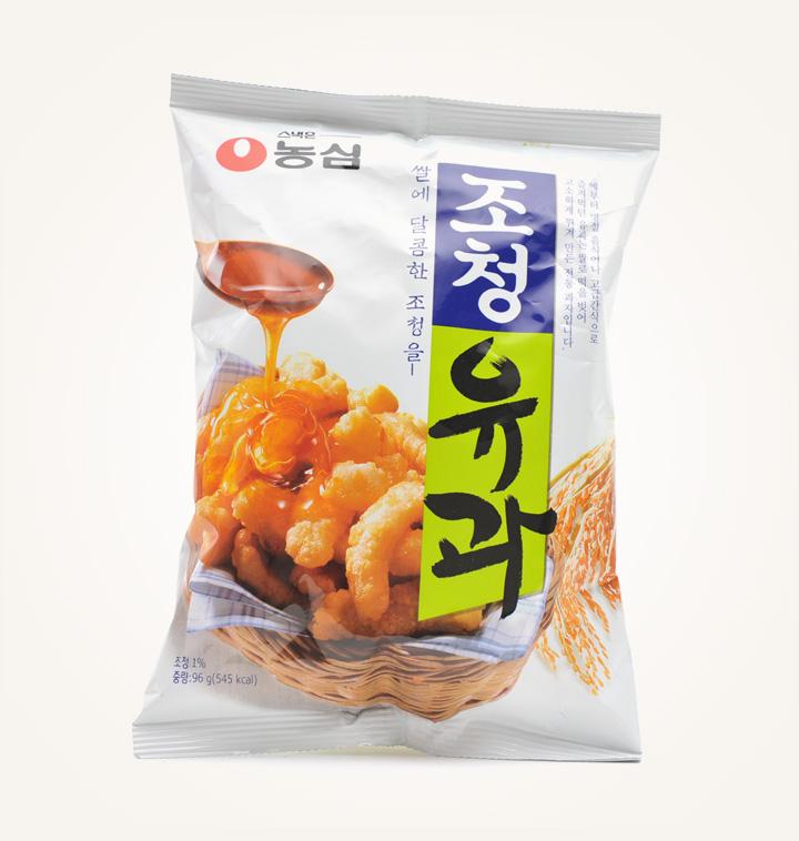 [슈퍼마트] 농심 조청유과96g