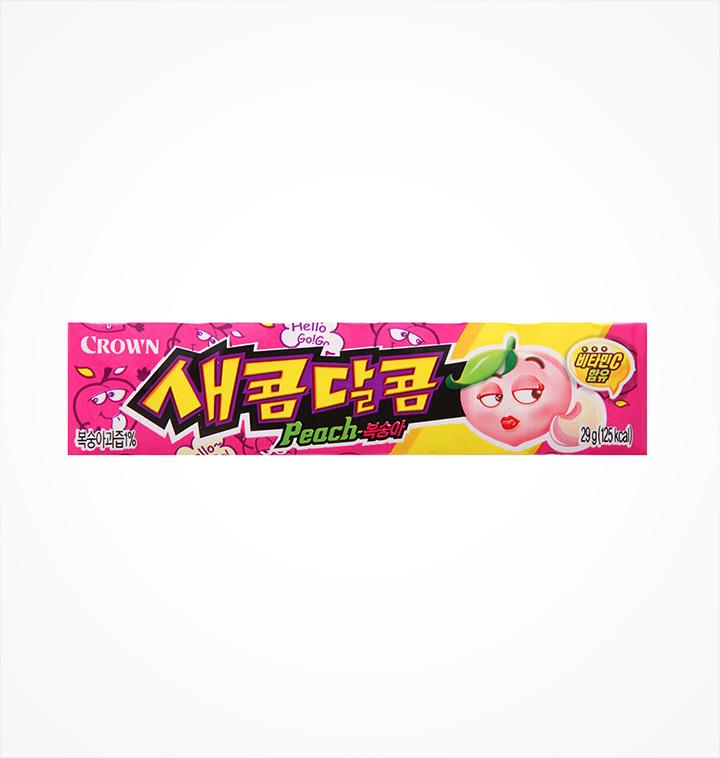 [슈퍼마트] 크라운 새콤달콤 복숭아 29g