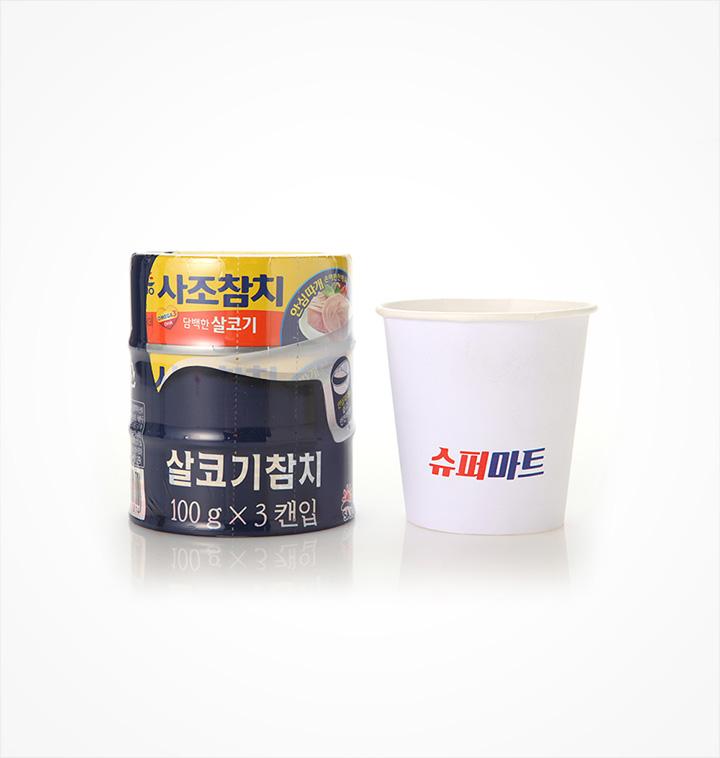 [슈퍼마트] 사조해표 로하이 살코기참치 안심따개 100G*3
