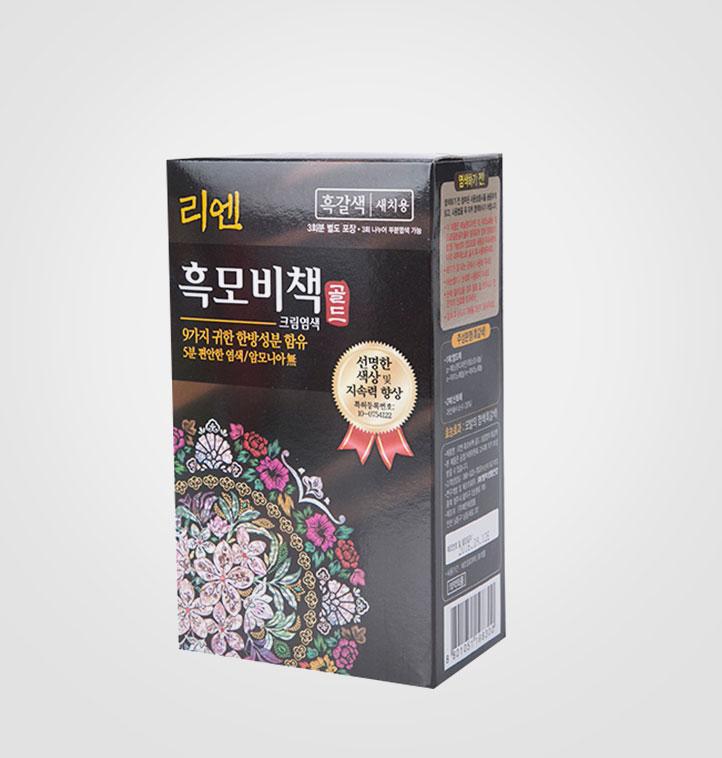 [슈퍼마트] 리엔 흑모비책 골드 흑갈색 90g