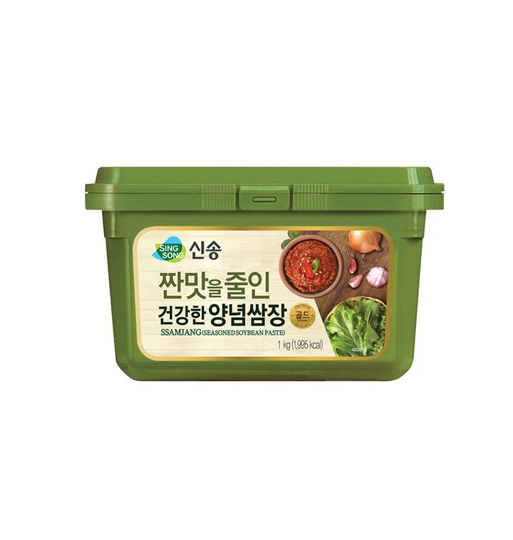 [슈퍼마트] 신송 짠맛줄인 건강한 양념쌈장 1kg