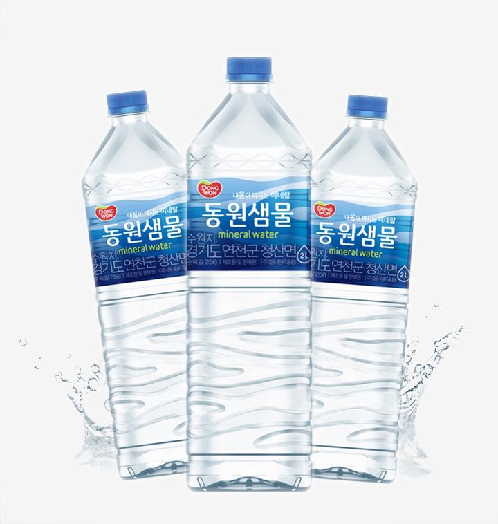 [슈퍼마트] [대용량] 동원 샘물 2L x 24병