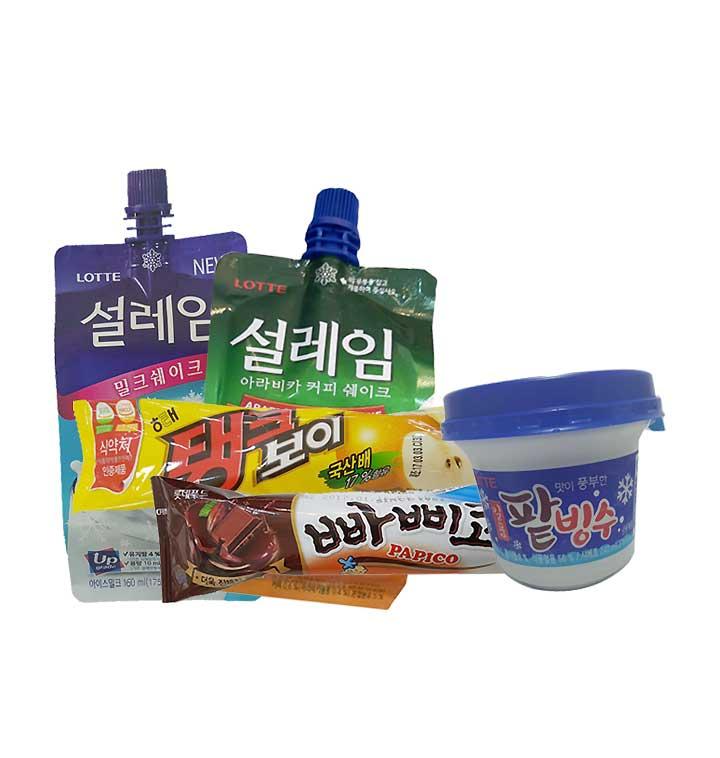 [슈퍼마트] 아이스크림 골라담기