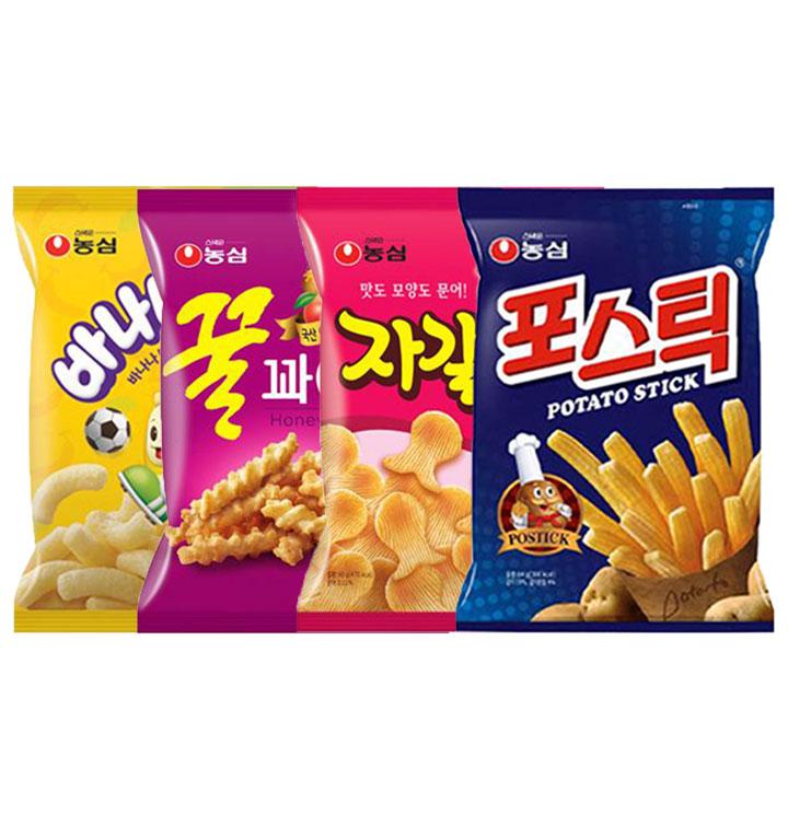 [천원마트] 농심 스낵 20종 ★천원마트★