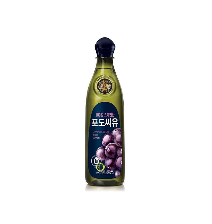 [슈퍼마트] CJ백설포도씨유 900ml