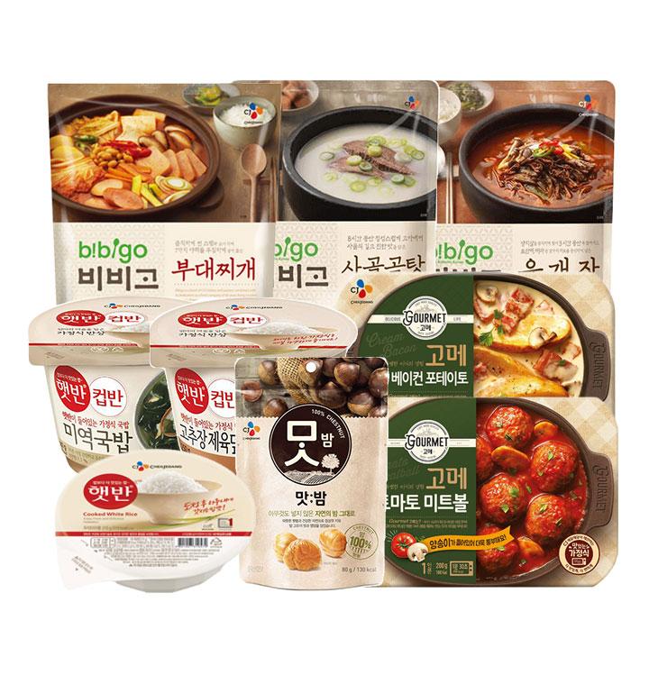 [슈퍼마트] CJ 즉석식품 모음전