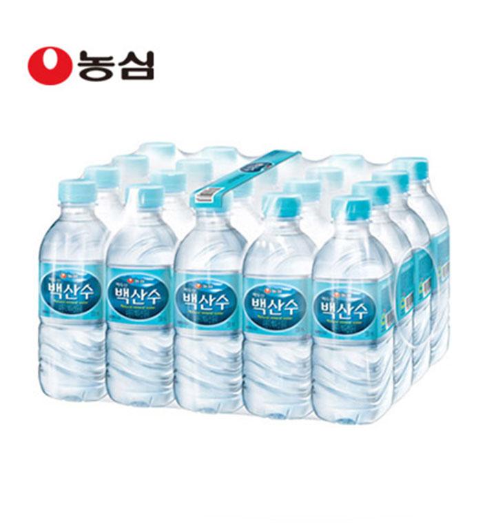 [슈퍼마트] 백산수 330ml x 40병